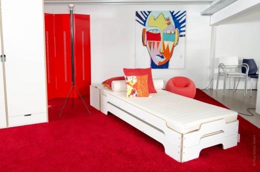 stapelliege der klassiker betten ps wohndesign. Black Bedroom Furniture Sets. Home Design Ideas